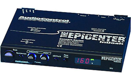 AudioControl's The Epicenter InDash Bass restoration processor with SPL/voltage display