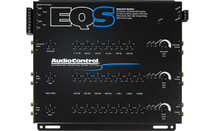 AudioControl EQS 6-channel 13-band graphic equalizer (Black)
