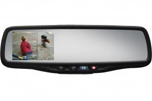 "50-GENK356S Gentex Auto-Dimming Rearview Mirror w/ 3.5"" Rear Camera Display & OnStar Retention"