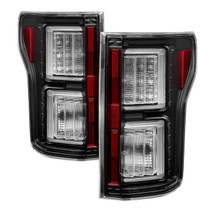 Ford F150 2015-2017 Light Bar LED Tail Lights - Black 5083487