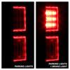 Ford F150 2015-2017 Light Bar LED Tail Lights - Black Smoke