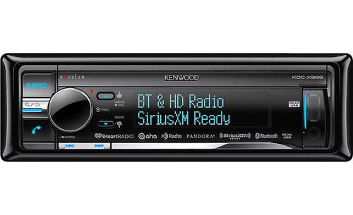 Kenwood  KDC-X998 CD receiver