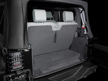 SB-J-JK2DR/10W1v3/DG: Stealthbox® for 2007-Up Jeep Wrangler 2dr with Med. Slate Gray or Med. Khaki interior SKU # 94513