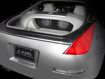 SB-N-350/10W3v3: Stealthbox® for 2003-2008 Nissan 350Z SKU # 94150