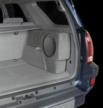 SB-T-4RNR2/10W3v3/DG: Stealthbox® for 2003-2009 Toyota 4-Runner with Dark Charcoal interior SKU # 94132