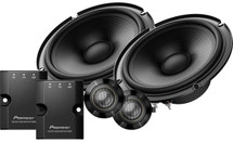 "Pioneer TS-Z65C 6-1/2"" component speaker system"