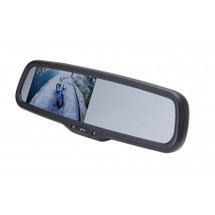 "4.3"" FACTORY MOUNT MIRROR MONITOR WITH BUILT IN BLUETOOTH"