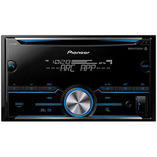 Pioneer FH-S500BT CD Receiver + Bluetooth + ARC app