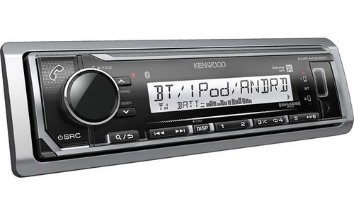 Kenwood KMR-M322BT Marine digital media receiver with Bluetooth (does not play CDs)