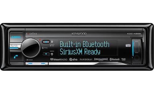 Kenwood Excelon  KDC-X898 CD receiver