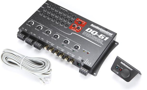 AudioControl DQ-61 Factory sound processor with equalization and time delay (Black)