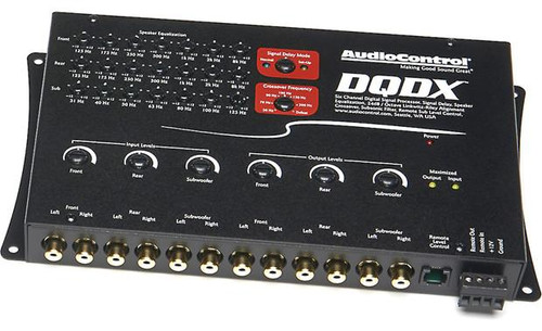 AudioControl DQDX Digital signal processor (Black)