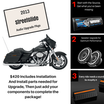 2013 Street Glide Audio Packages