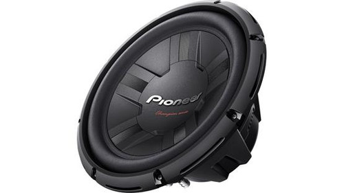 "Pioneer TS-W311D4 Champion Series 12"" subwoofer with dual 4-ohm voice coils"