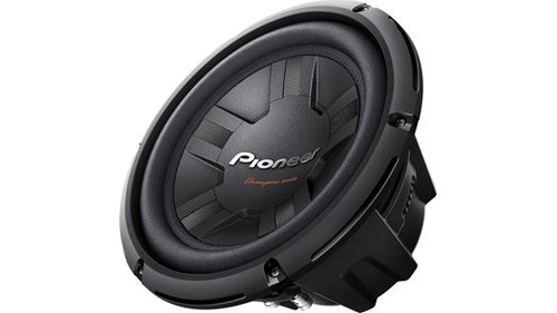 "Pioneer TS-W261D4 Champion Series 10"" subwoofer with dual 4-ohm voice coils"