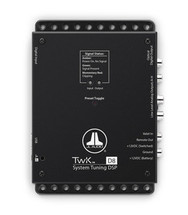 JL Audio TwK-D8: System Tuning DSP controlled by TüN software, Digital INPUT ONLY / 8-ch. Analog Outputs