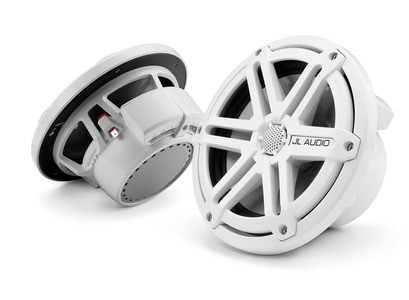 JL Audio M770-CCX-SG-WH: 7.7-inch (196 mm) Cockpit Coaxial System, White Sport Grilles