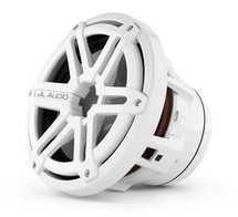 JL Audio M8IB5-SG-WH: 8-inch (200 mm) Marine Subwoofer Driver, White Sport Grille, 4 Ω