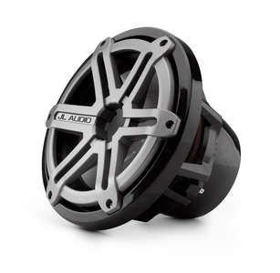 JL Audio M10IB5-SG-TB: 10-inch (250 mm) Marine Subwoofer Driver, Titanium Sport Grille, 4 Ω