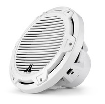 JL Audio MX10IB3-CG-WH: 10-inch (250 mm) Marine Subwoofer Driver, White Classic Grille, 4 Ω