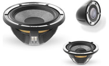 """Focal Utopia Be No.7 Active 6-3/4"""" 3-way component speaker system without crossovers"""