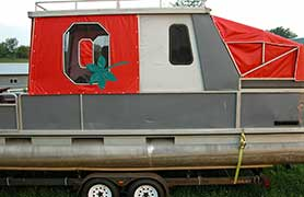 EZ Outdoors Custom Boat Covers - Ohio State