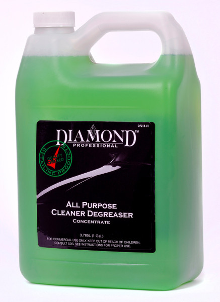 All Purpose Cleaner Degreaser is a non-staining, heavy duty cleaner degreaser formulated to remove road grime deposits. It is also an excellent engine, undercarriage and tire cleaner. It effectively cleans and degreases concrete and industrial flooring. Designed to fit a wide range of applications, All Purpose Cleaner Degreaser will suit your deep cleaning requirements with a safe and efficient deep cleaning chemistry designed to get the job done. Please note dilution recommendations for consistent results.