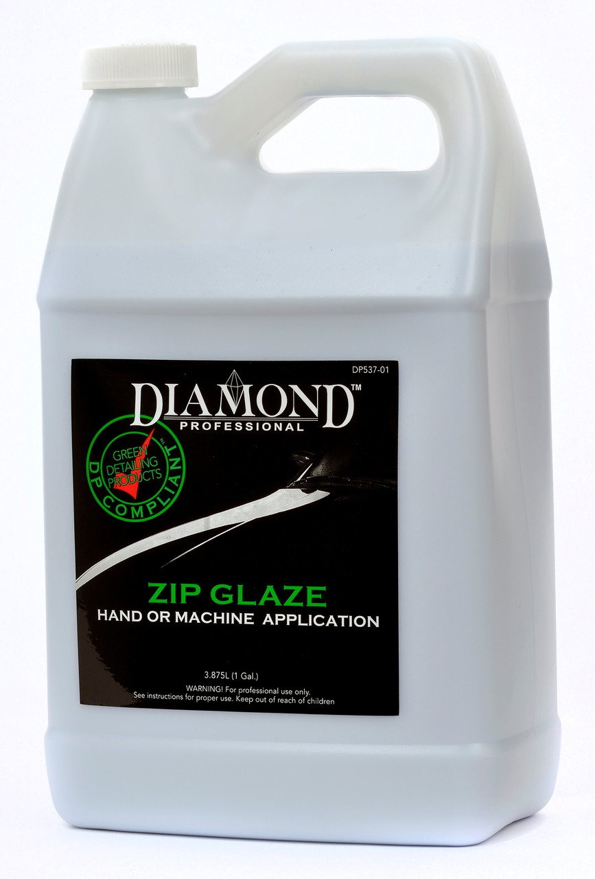 Zip Glaze removes scratches and imperfections while adding a protective layer of polish to the vehicle surface. Formulated to enhance dark or difficult to wax finishes.