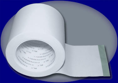 """G-Floor glass cloth seaming tape with acrylic adhesive. Specially formulated for bonding together BLT roll-out garage flooring. Strip is 4"""" wide and 90' long."""