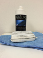 This kit includes Cleaner Wax, 2 mircrofiber towels, and an applicator sponge.