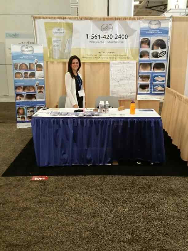 Help Hair Shake and Hair Vitamins at the AAD convention