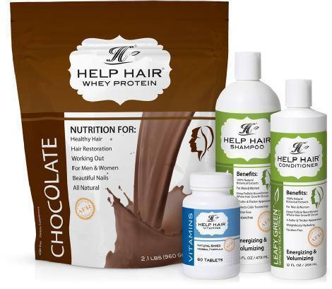 Help Hair Shake 4 Step Program