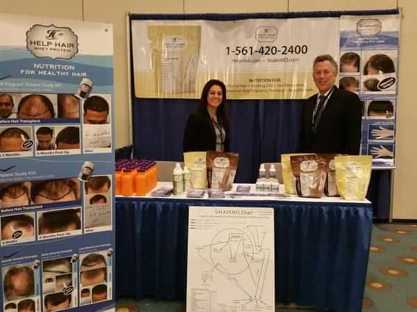 Help Hair Vitamins and Shake at ODAC convention