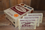 60ct Case Sweet Kettle Corn Microwave Hulless Popcorn