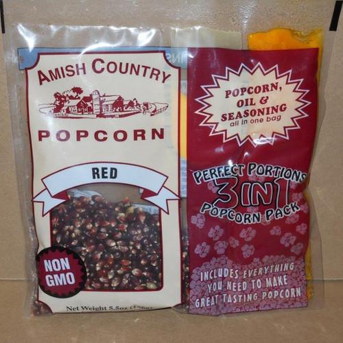 Red Popcorn Pack Non-GMO