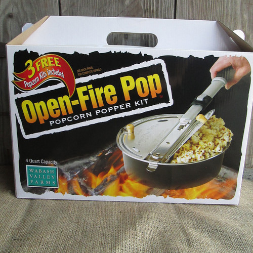 Open Fire Popcorn Popper