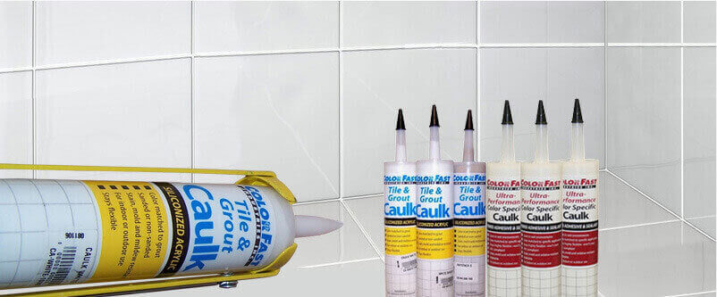 Colored Tile And Grout Caulk