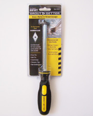 Grout Getter tool for removing grout in small tile joints