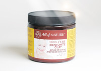 All of Nature 100% Pure Bentonite Clay Mask 16oz / 480ml