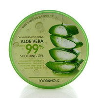 FOOD-A-HOLIC ALOE 99% Calming & Moisturizing Soothing Gel (Jar) 300ml/10oz