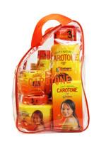 Caroton 5pc  Set Lotion, Cream, B.S.C., Oil, Soap (Bag)