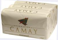 Camay Natural(White) Soap 3 PC 4.4 oz/125g * 3