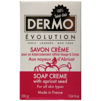 Dermo Evolution Soap Creme with Apricot Seed 7.04oz/200g