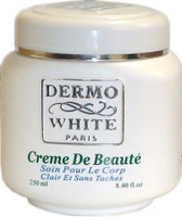 Dermo White Beauty Jar Cream 8.4 oz / 250 ml