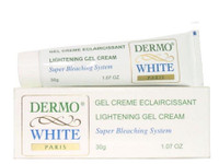 Dermo White Skin Lightening Tube Gel Cream 1 oz / 30 ml