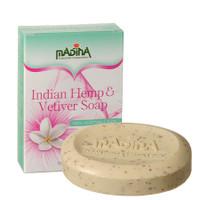 Madina Indian Hemp & Vetiver Soap 3.5 oz