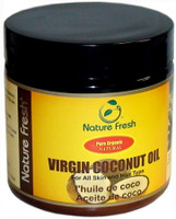 Nature Fresh 100% Pure Organic Coconut Oil 4oz