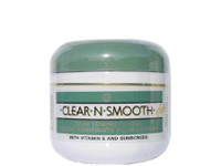 Clear-N-Smooth Skin Toning Jar Cream(Green) 4 oz
