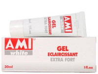 Ami White Powerful Skin Lightening Tube Gel 1 oz / 30 ml