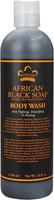Nubian Heritage African Black Soap BODY WASH 13oz / 384ml